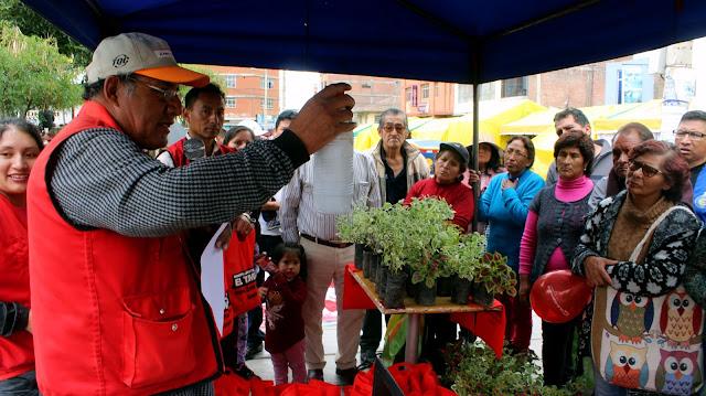 Municipio de El Tambo entrega abono elaborado a base de residuos sólidos