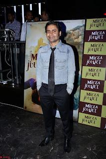 Pia Bajpai and Darshan Kummar Launching the Music of movie Mirza Juuliet 016.JPG