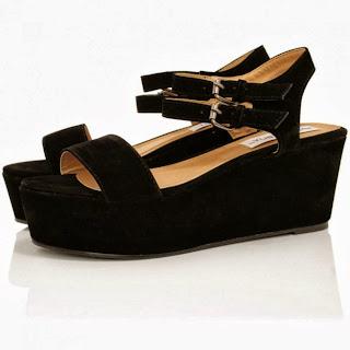 novos modelos sandálias plataforma reta 2014