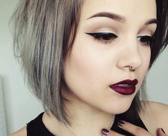 Resultado de imagem para maquiagem gringa tumblr