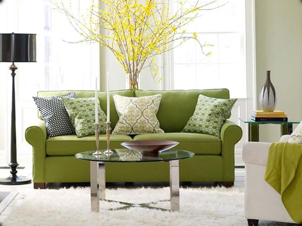 Зеленый цвет в интерьере - Дизайн интерьера Декор своими 91