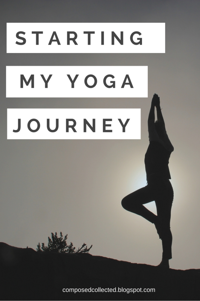 beginning my yoga journey