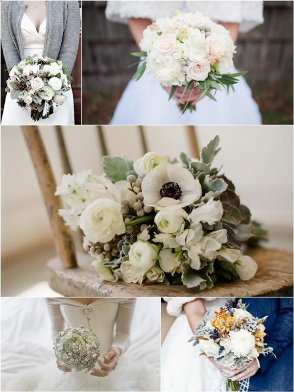 Winter Bouquet Ideas Varese Wedding