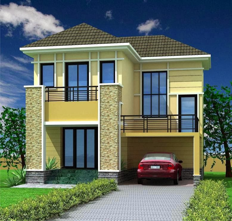 Exterior Indian Home Design Pictures: 20 Amazing 3D House Exterior Design Styles In 2014