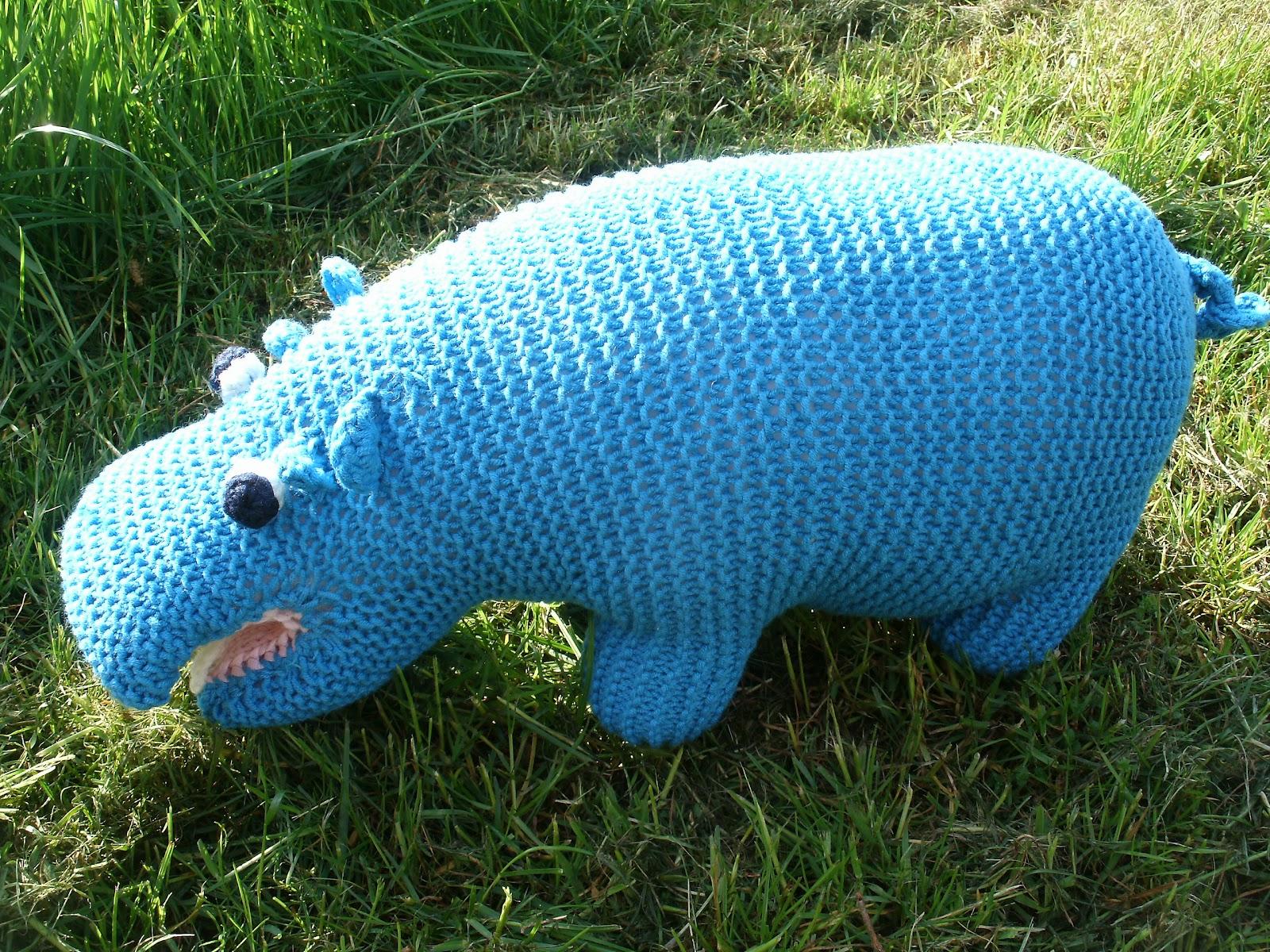 Kochloeffel Und Nadelkissen Hoppi Hippopotamus Das Wasserscheue