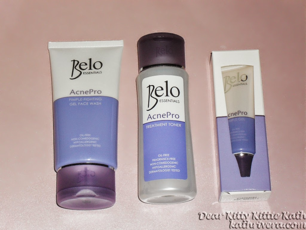 Product Review Belo Essentials Acnepro 3 Step Clear Skin System