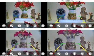 scena ripresa con le telecamere e visualizzata sul cellulare