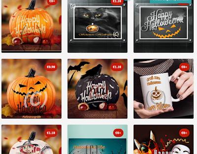 Halloweenbilder kaufen