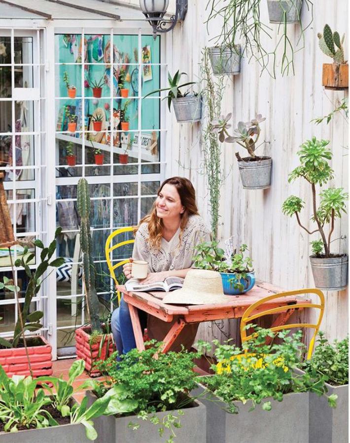 La casa de la argentina Virginia Escribano