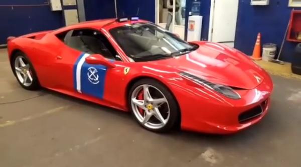 Ferrari 458 Italia Prefectura Naval Argentina