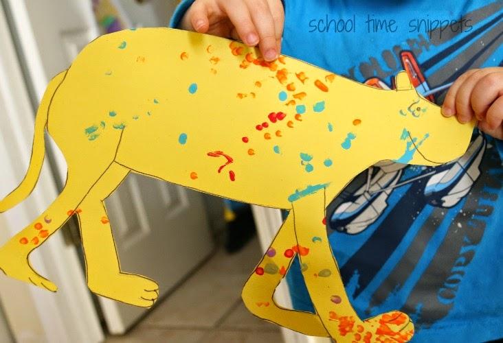 Dr. Seuss Toddler Fine Motor Craft