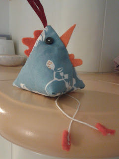 galletto blu decorazione pasquale