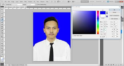 Pilih warna background