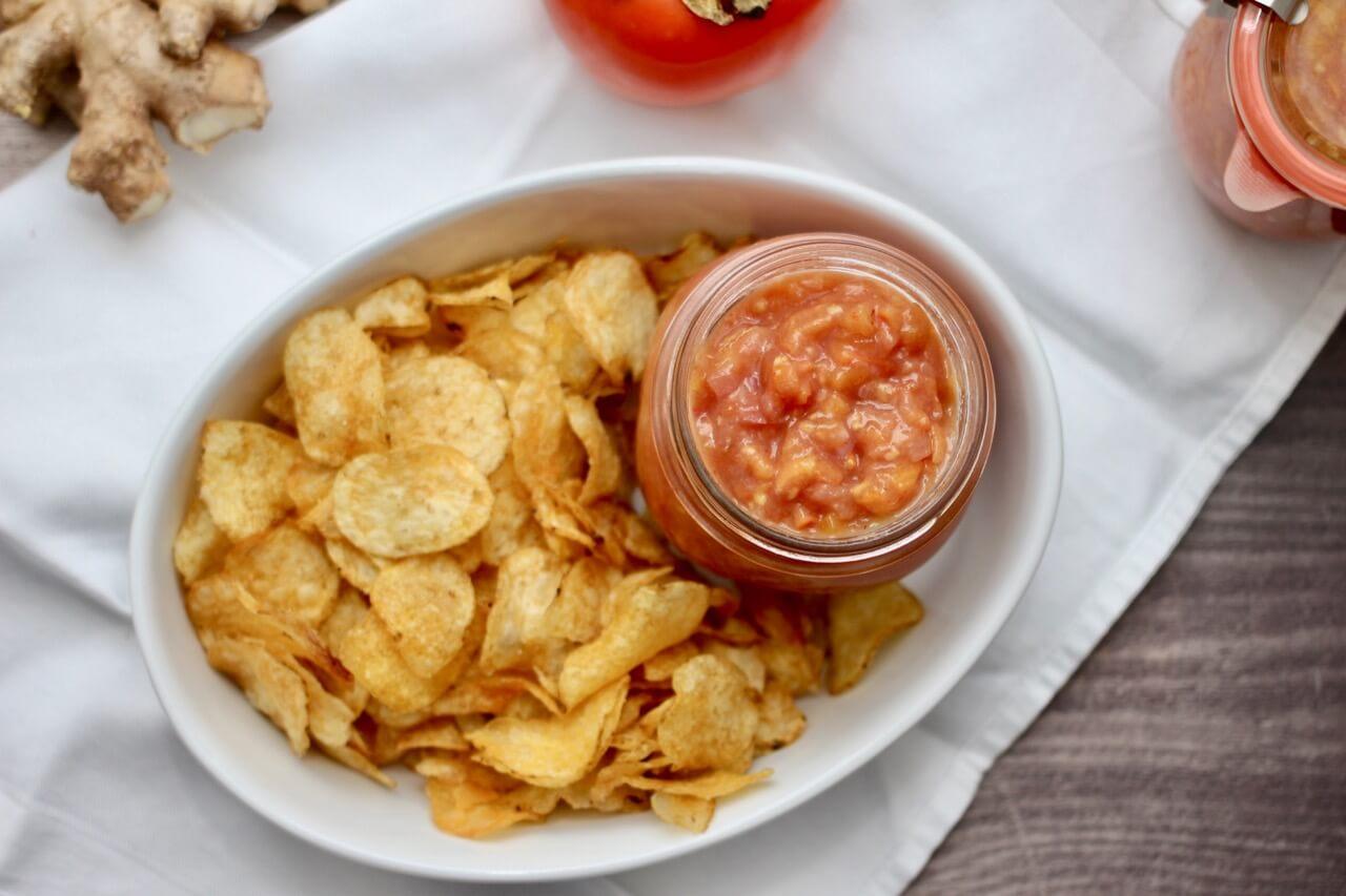 Kaki-Chili-Salsa