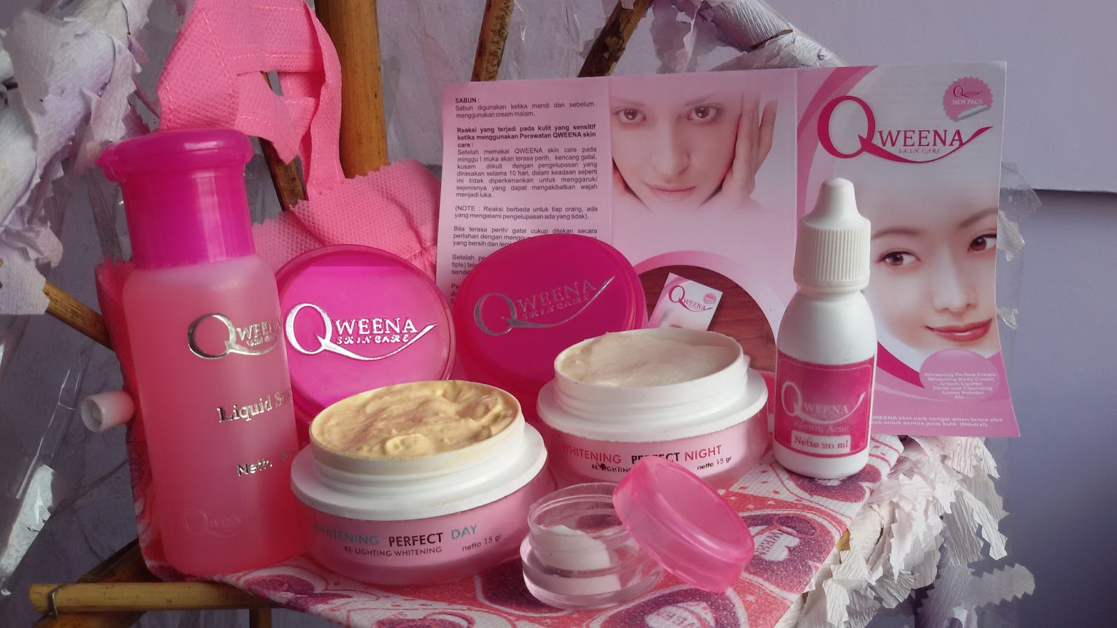 Cream Qweena Acne Skin Care Perawtan Wajah Susu Domba Https Forumkosmetikkersblogspotcoid