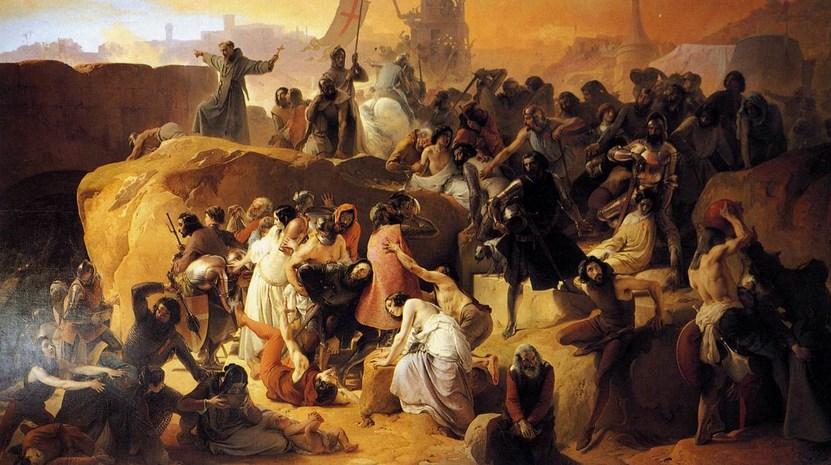 Sejarah Perang Salib VI (Enam) : Manuver Politik Friedrich II di salib II dan perang besar