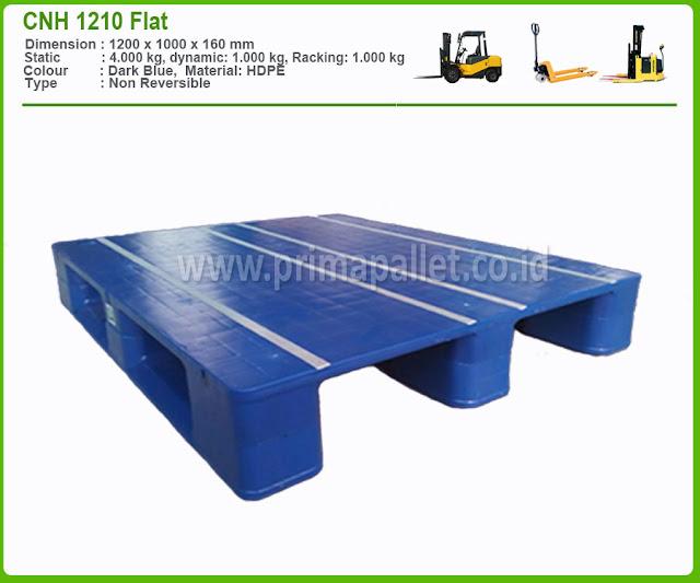 Pallet Plastik CNH 1210 Flat