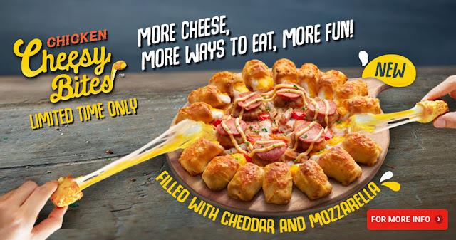 Harga Pizza Hut Chicken Cheesy Bites