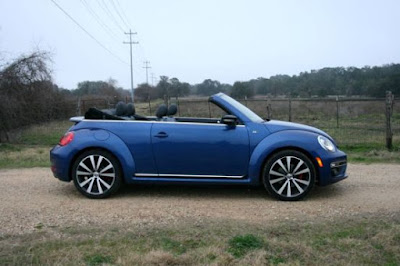 Beetle Convertible: The electric steering is fine