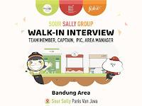 lowongan kerja area manager sour sally group bandung