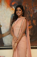 Eesha Rebba in beautiful peach saree at Darshakudu pre release ~  Exclusive Celebrities Galleries 051.JPG