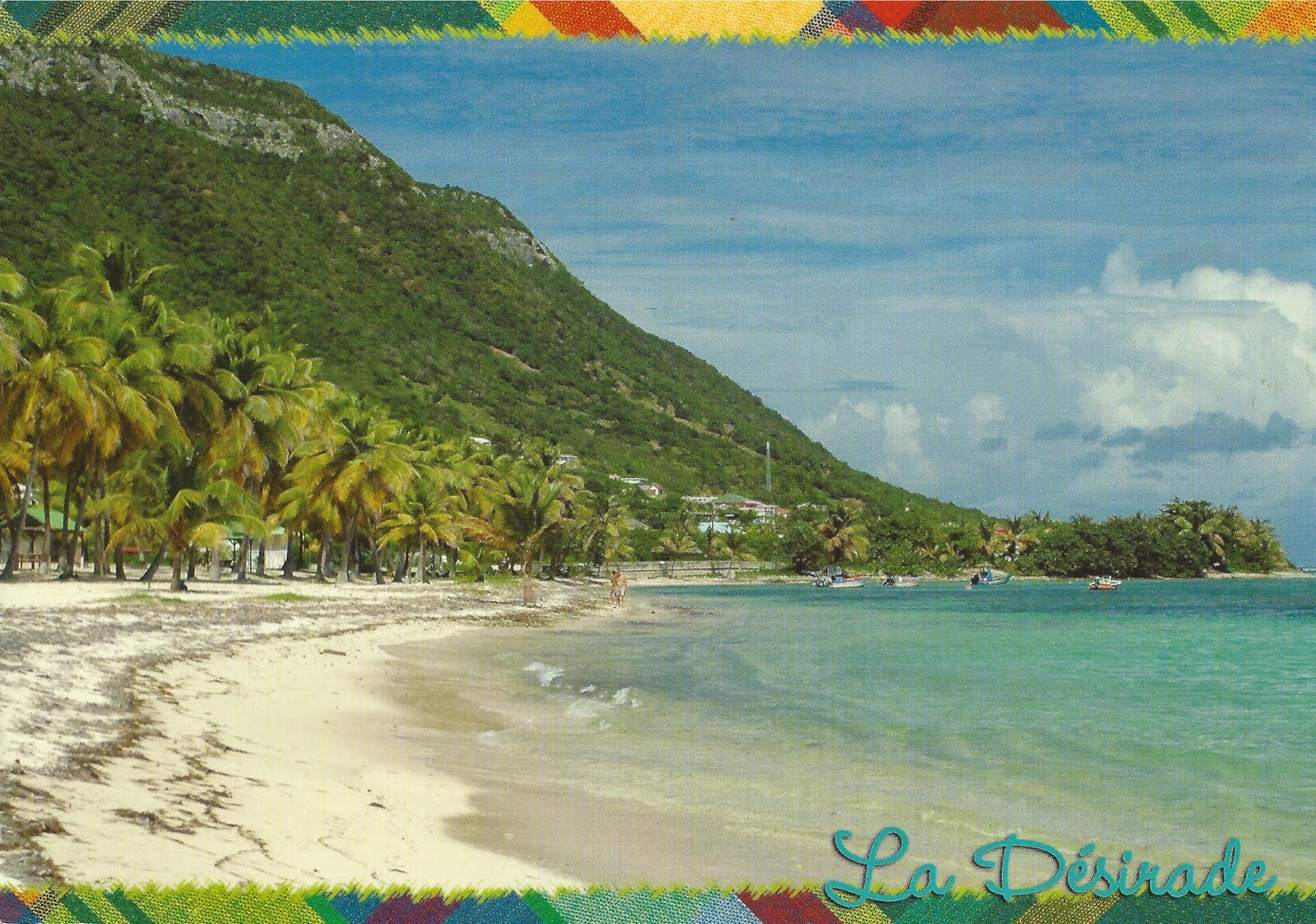 La Desirade, island of Guadeloupe