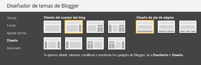 Diseño de Temas de un blog de Blogger