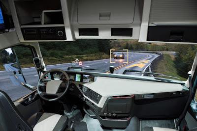 Não fique assustado se encontrar um caminhão sem motorista rodando por aí