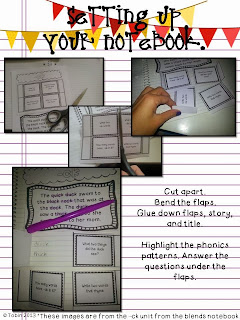 Setting up a phonics interactive notebook- hands on, engaging activities to learn phonics skills