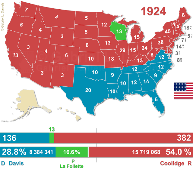 United States of America presidential election of 1924
