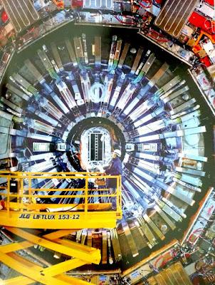 Experimento CMS del Gran Colisionador de Hadrones
