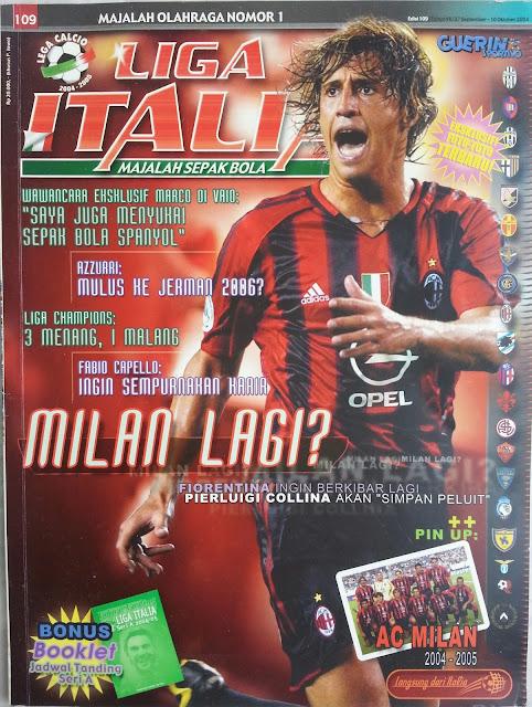 Majalah LIGA ITALIA (MILAN LAGI?)