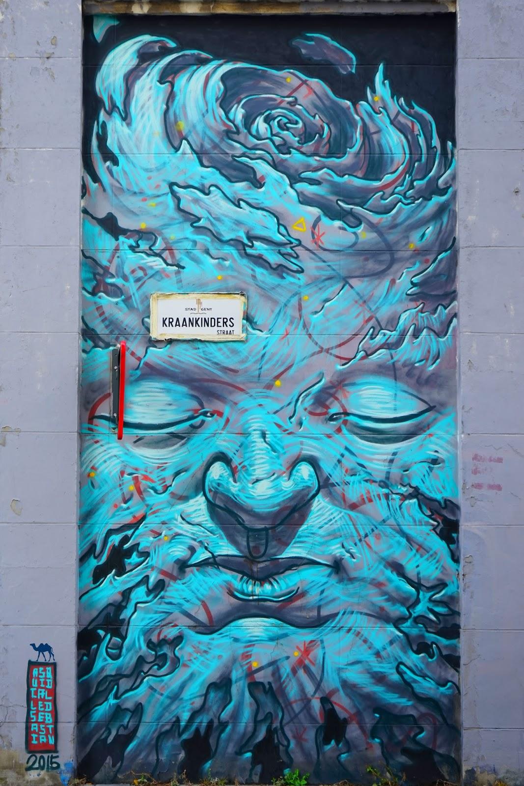 Le Chameau Bleu - Street art