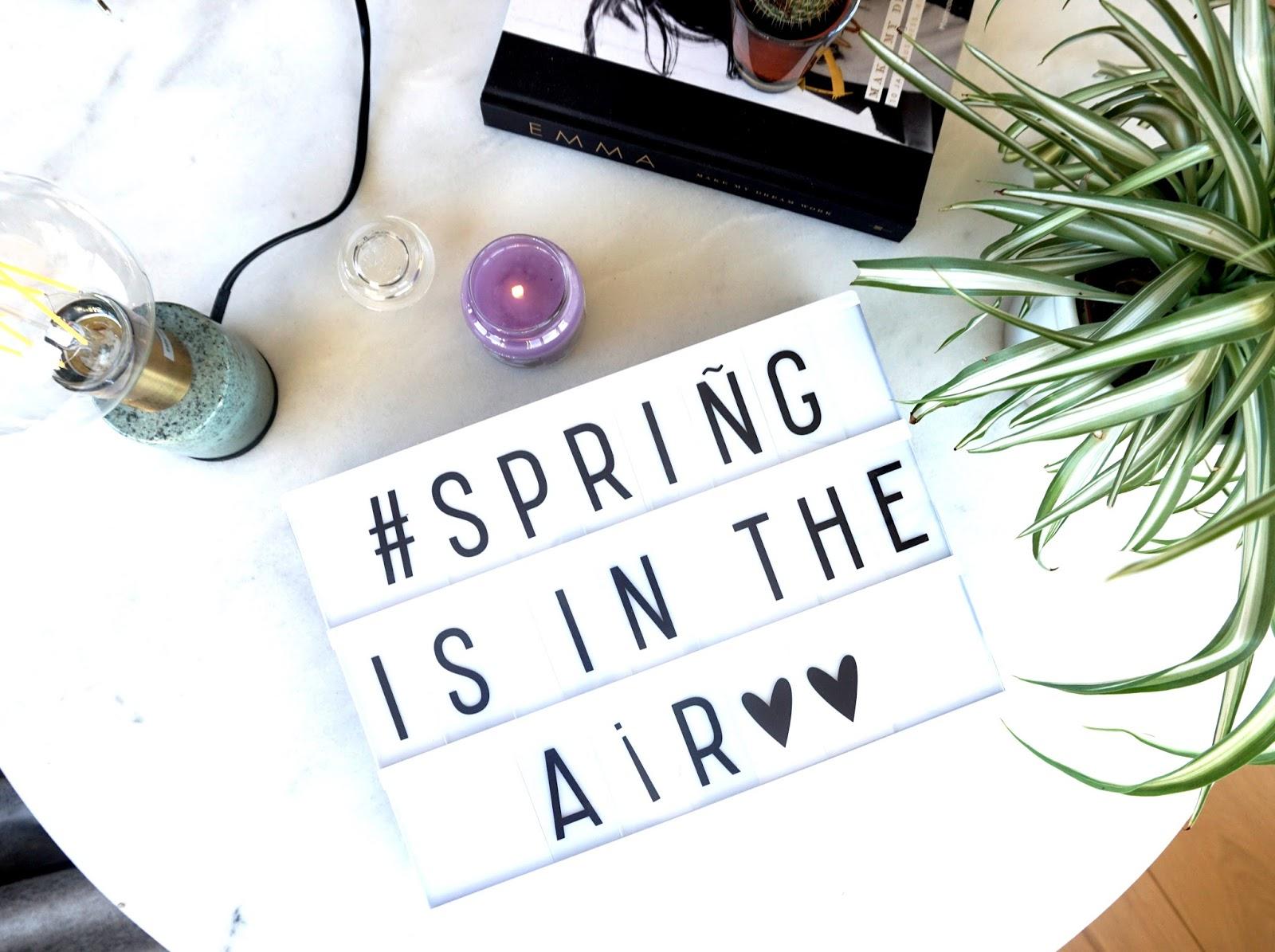 Vijf makkelijke manieren om de lente in huis te halen