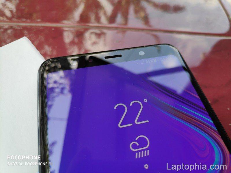 Desain Samsung Galaxy A7 2018