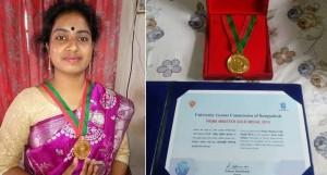 স্বর্ণপদক নয়, চাকরি চাই: মেধাবী শিক্ষার্থী আরিফা