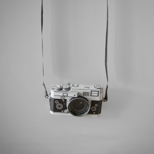 Polaroid Camera Models Made with Paper | Câmera polaroid ... | 640x640