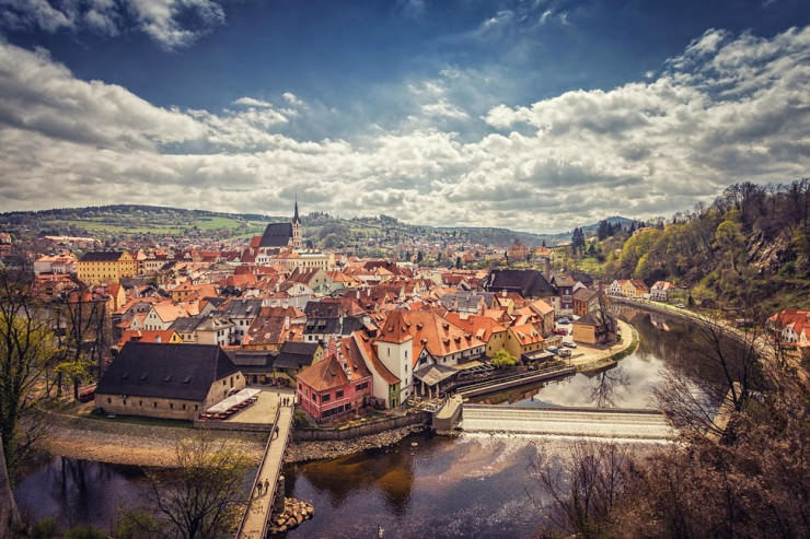 28. Krumau, Czech Republic - 30 Best and Most Breathtaking Cityscapes