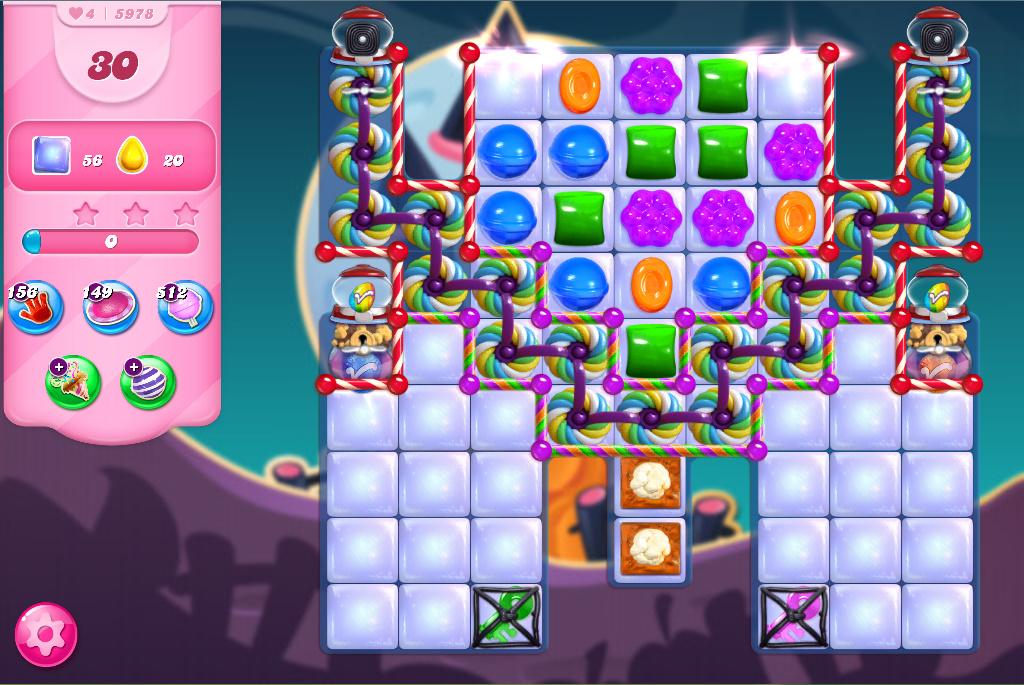 Candy Crush Saga level 5978