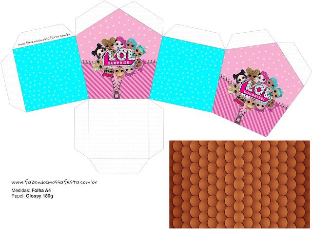 Lol Surprise Caja Con Forma De Casa Para Imprimir Gratis Ideas Y