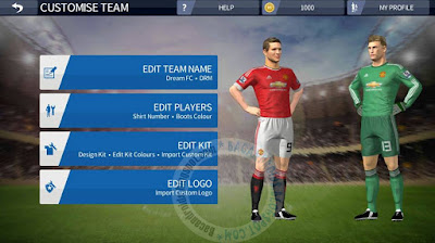 Game Dream League Soccer 16 MOD