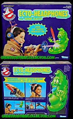Kenner The REAL Ghostbusters Ecto-Headphones Roleplay Toy