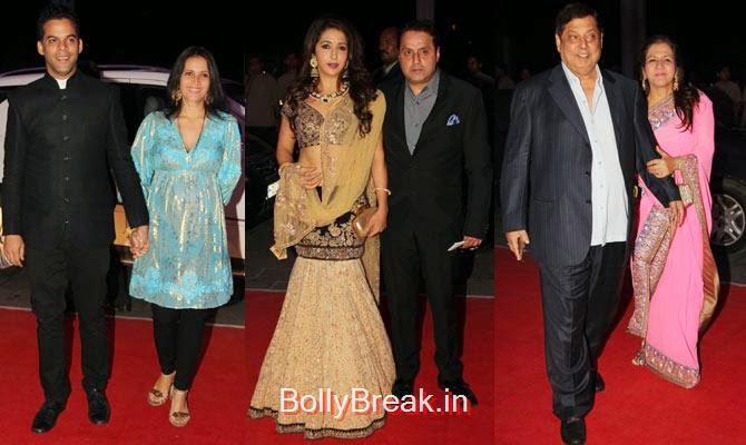 Vikramaditya Motwane, Ishika, Sunil, Krishika Lulla, David Dhawan, Karuna, Celebs At Kush Sinha's reception