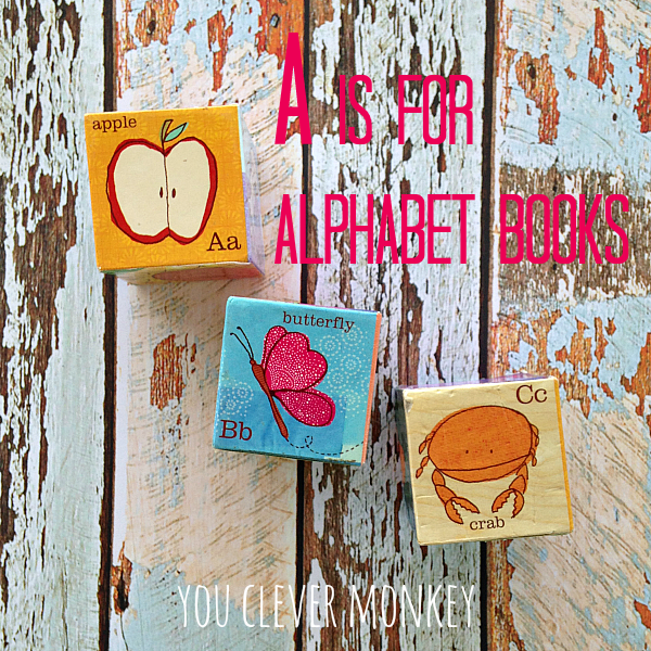 Best Alphabet Books - a collection of the best alphabet picture books for young children to read and share | you clever monkey