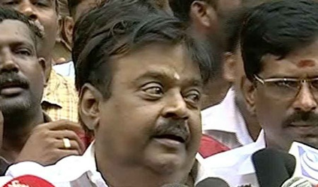DMK can not stands in RK Nagar election: Vijayakanth