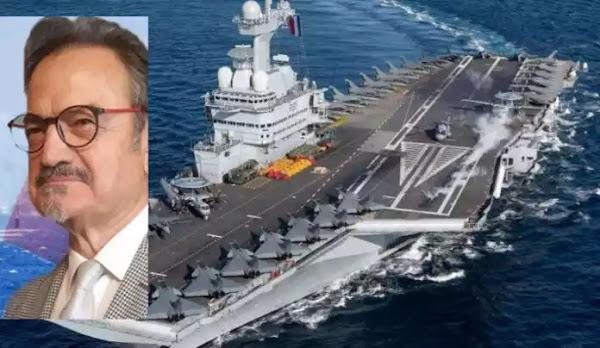 Τούρκος ναύαρχος ε.α. «Μπορούμε να καταλάβουμε το γαλλικό αεροπλανοφόρο σε δυο μέρες»