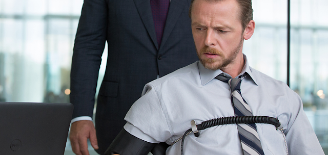 Benji Dunn (Simon Pegg) în Mission: Impossible Rogue Nation