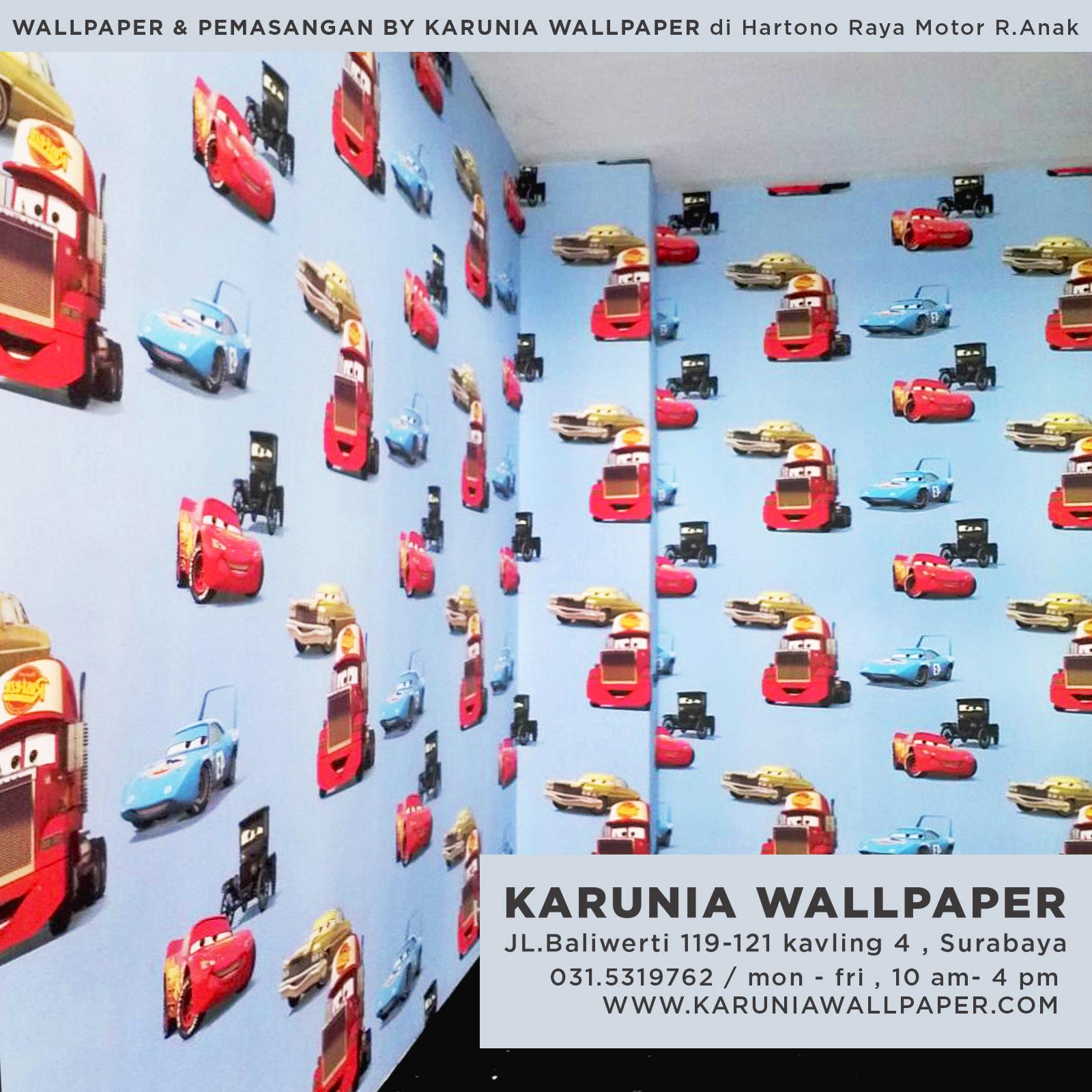 pemasangan wallpaper surabaya toko karuniawallpaper