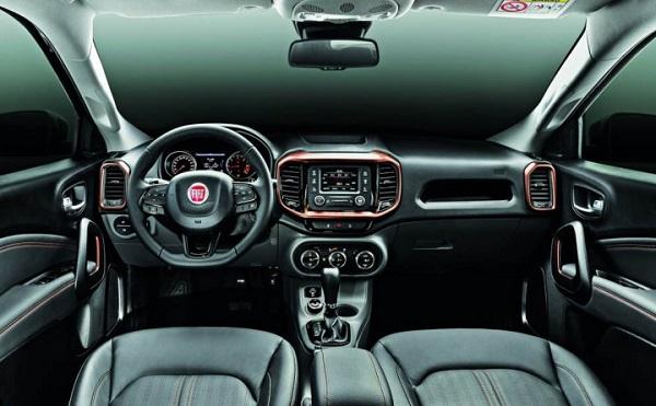 interior Fiat Toro Argentina