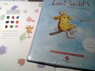Loni lacht!, Kinderbuch, Angela Kommoß, Selbstverlag, Glückspunkt, Resilienz